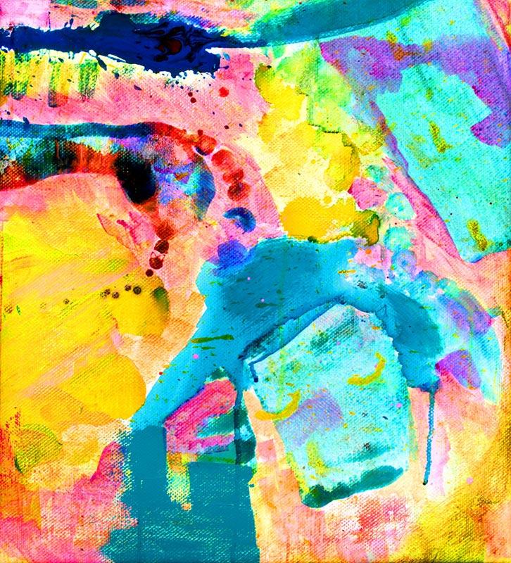 Katarina Nilsson Artwork: Being holy makes me blue