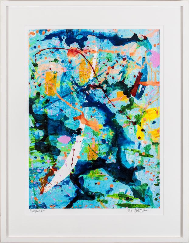 Katarina Nilsson Artwork: Blåsplitter print