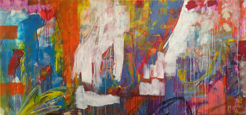 Katarina Nilsson Artwork: Courage