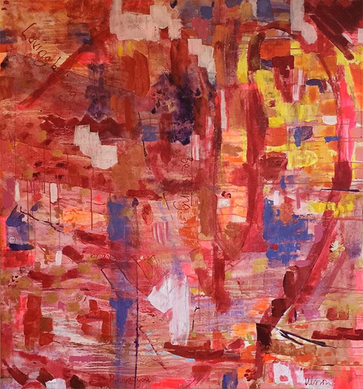 Katarina Nilsson Artwork: Love Being