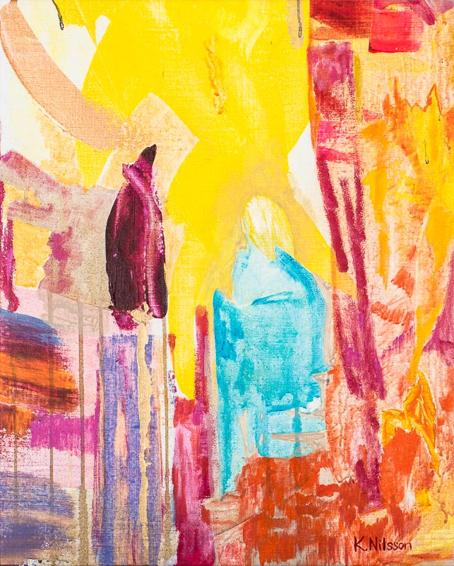 Katarina Nilsson Artwork: Thoughtful is a mouthful