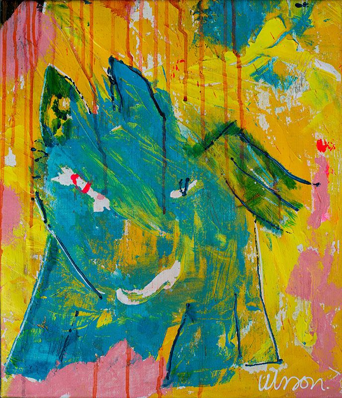 Katarina Nilsson Artwork: Wild Blue